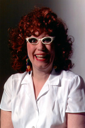 Actress Jamie Newell as Doris the Waitress